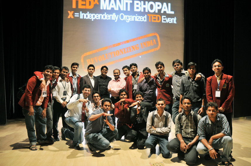 At TEDxMANIT Bhopal